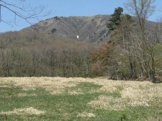 Chugoku, Japan: ふもとから見た中蒜山
