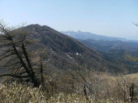 Mt. Hiruzen: 上蒜山と大山