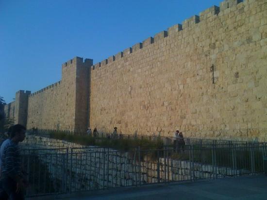 Jaffator (Bab al-Khalil): la muralla que rodea a la cuidad vieja