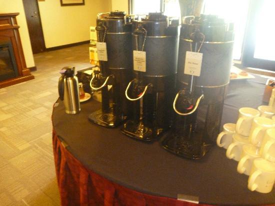 Talaris Conference Center: Starbucks coffee: Breakfast is complete!