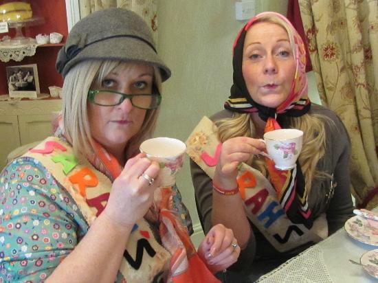 Middleton Post Office Tea Parlour : A perfect cup of tea