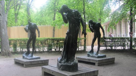 garden sculptures - Picture of Musee Rodin, Paris ...