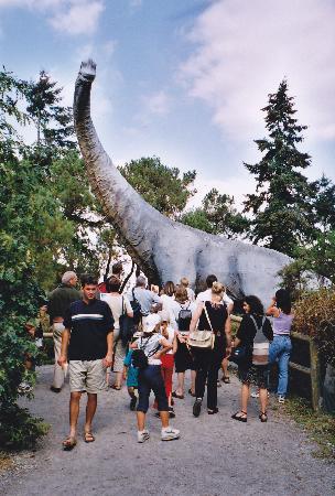 Parc de Prehistoire de Bretagne: Here be monsters!