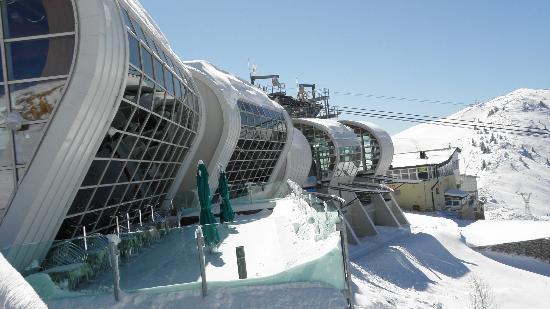 Cable Car Station Monte Baldo Picture Of Hotel Alpino Malcesine