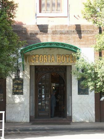 Victoria Hotel: Hotel Victoria - Portone di ingresso