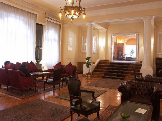 Victoria Hotel: Hotel Victoria - L'elegante salotto