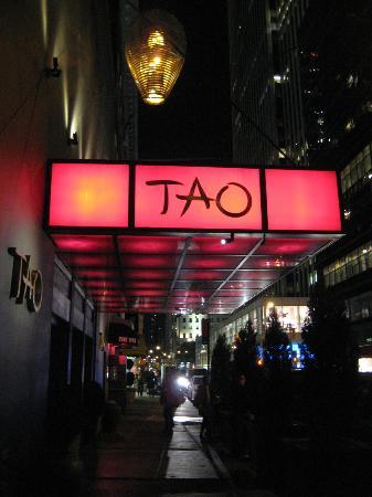 Insegna ristorante picture of tao new york city for Aura thai fusion cuisine new york ny