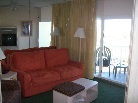 Ocean East Resort Club: Living Room