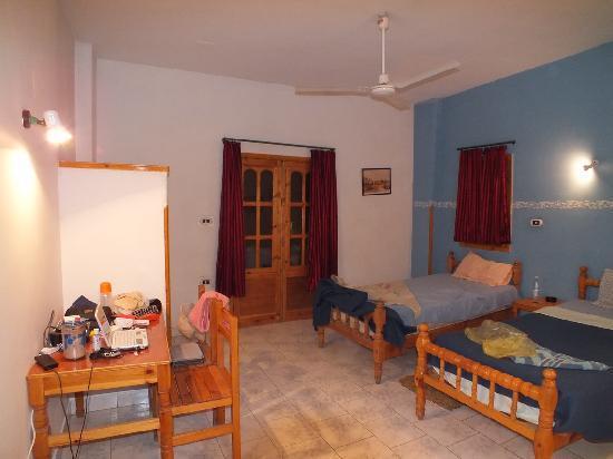 El Fayrouz - Una delle stanze che affacciano sul giardino interno