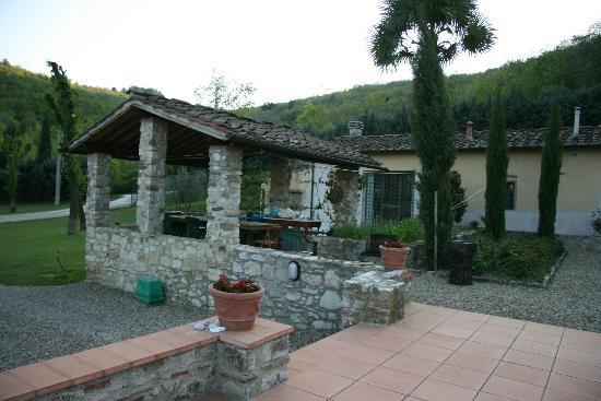 Casignano B&B: A view of Casignano