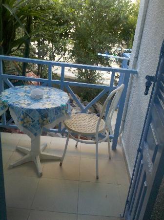 Pension Elektra: balcony