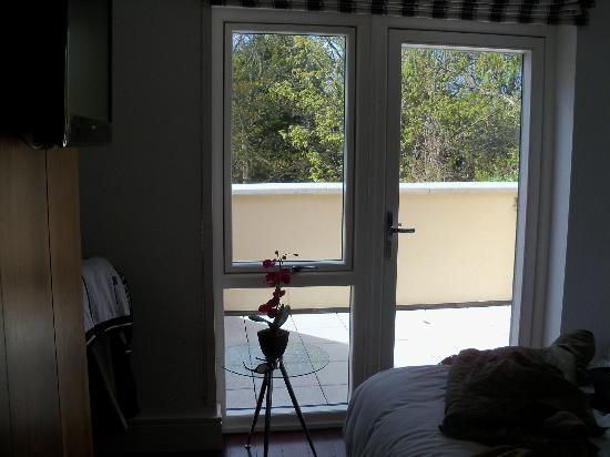 The 44: Room facing balcony.