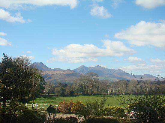 Killeen House Hotel: View from the gardens of the Killeen House
