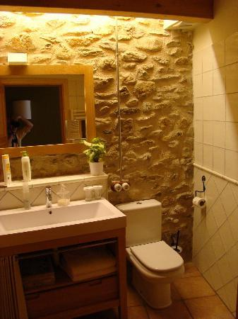 Niu de Sol - Hotel Rural: bath