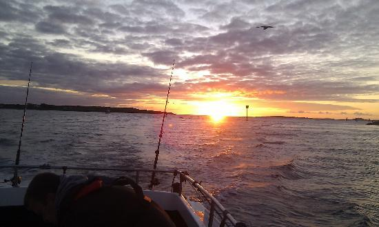 Ewings Sea Angling and Boat Charters: Sunset