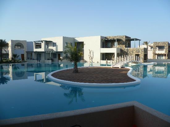 Ostria Resort & Spa : vue de la chambre
