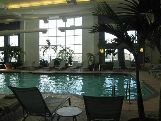 Hilton Suites Ocean City Oceanfront: Indoor Pool