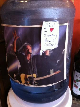 Jumping Bean Coffee Co.: even Bruce Springsteen likes this place!