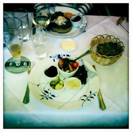 Restaurant Amalie: Vacker lunch!