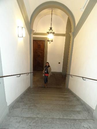 Hotel Aldobrandini: Las Escaleras