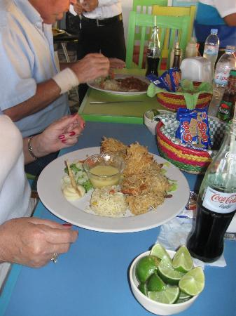 El Oasis Mariscos: Coconut Shrimp