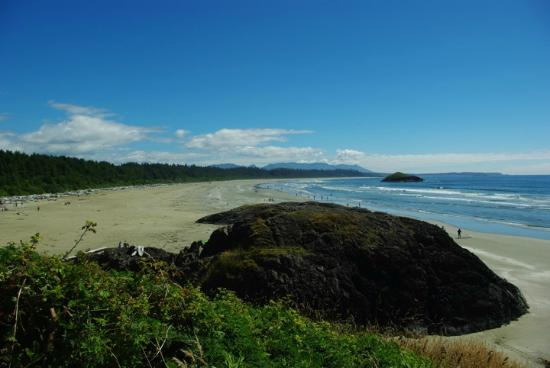 The Francis: Pacific Rim on western side of Ucluelet