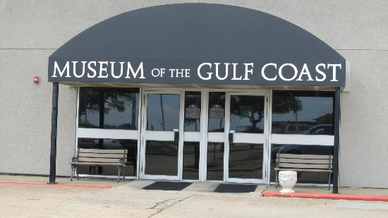 Museum of the Gulf Coast: Sign in front of the museum.