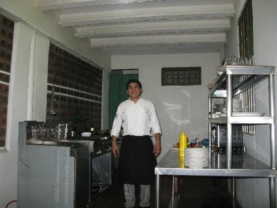 GPS: Chef Joshua, in his kitchen