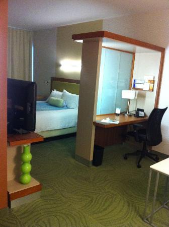 SpringHill Suites Irvine John Wayne Airport/Orange County: living area side