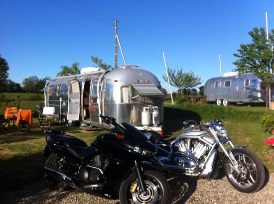 Belrepayre Airstream & Retro Trailer Park: notre campement