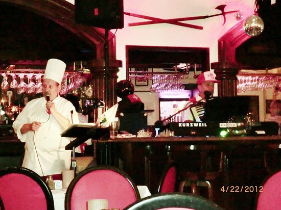 Swiss Chef USA: entertainment by chef/owner