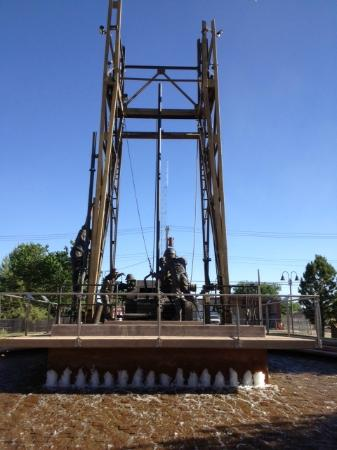 Artesia, NM: The Derrick Floor