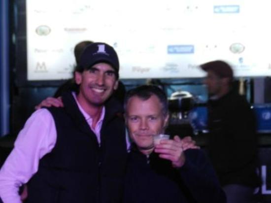 Polo Tour: el anfitrion con el amigo