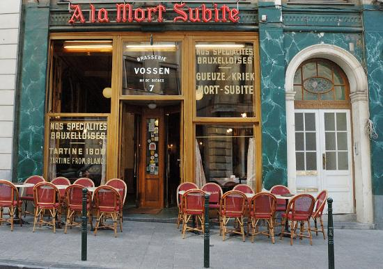 La Mort Subite (Brussels, Belgium): Hours, Address, Bar