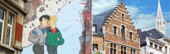 Tintin Mural Painting