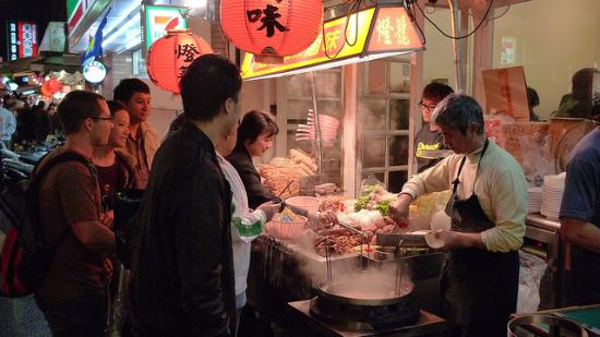 Da'an, Taipei: Courtesy of David, Shida Night Market