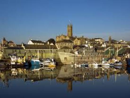 Old Vicarage: Penzance Harbour