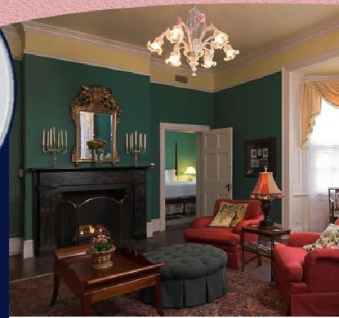 Cuthbert House Inn: East Lake Suite