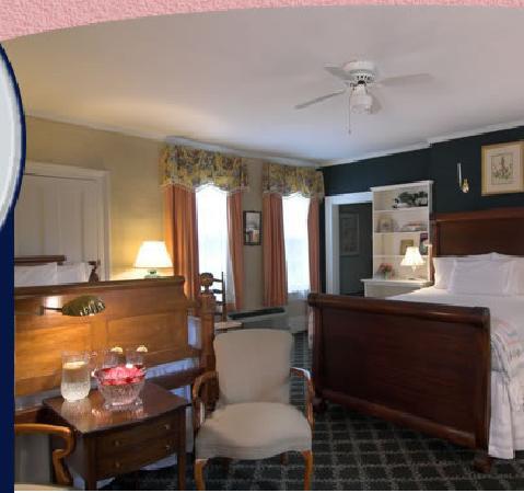 Cuthbert House Inn: The Garden Room