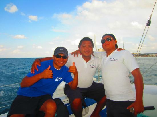 Sea Passion Catamaran: Our crew