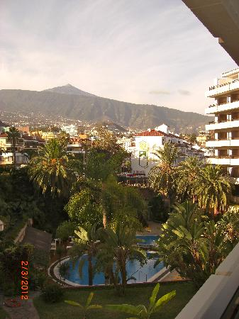 Hotel Puerto de la Cruz: Utskt fra min veranda