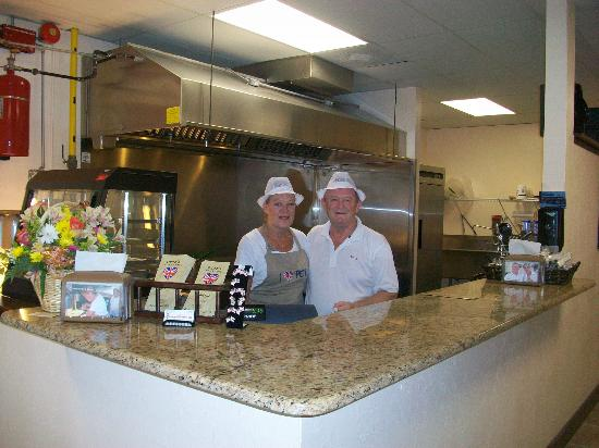 Pete's Fish and Chips: Dianne and Pete co-owners
