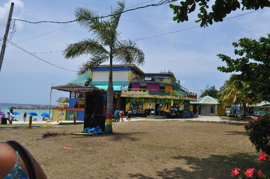 Aquasol Beach Park: The Main Building