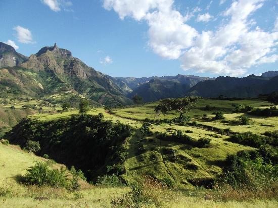 Gonder, Etiopia: More scenery