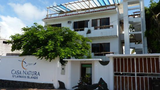 Galapagos Islands Hotel: frente del hotel
