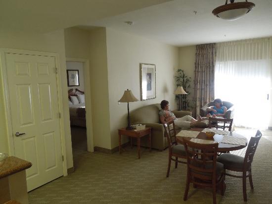 Tahiti Vacation Club: Living room