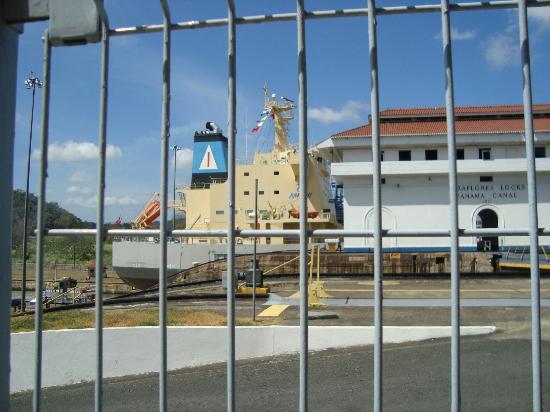 Farallon, Panama: el Canal