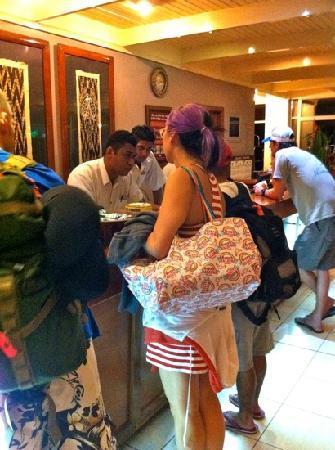 Tanoa International Hotel: lobby