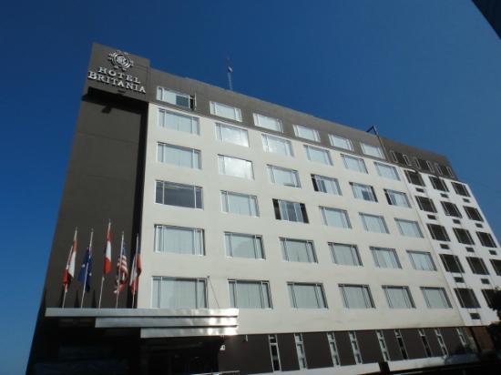Hotel Britania: Front facade