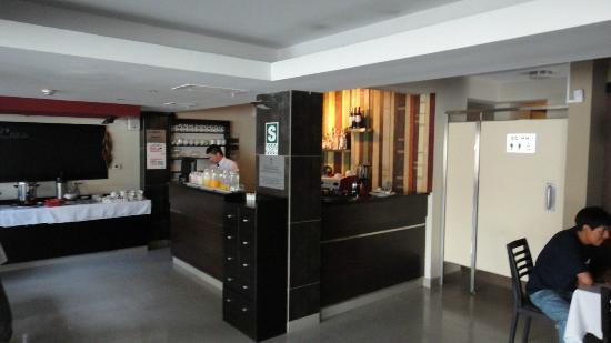 Hotel Britania: Breakfast area
